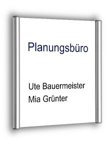 Türschild Stuttgart